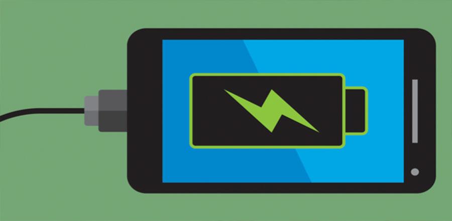 Smart Phone our Laptop Ki Battery