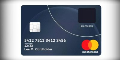 credit and debit card biometric