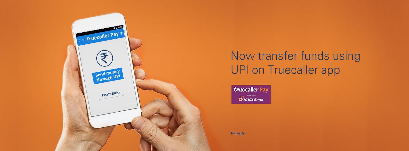 truecaller-pay-online-money-transfer-icici-bank