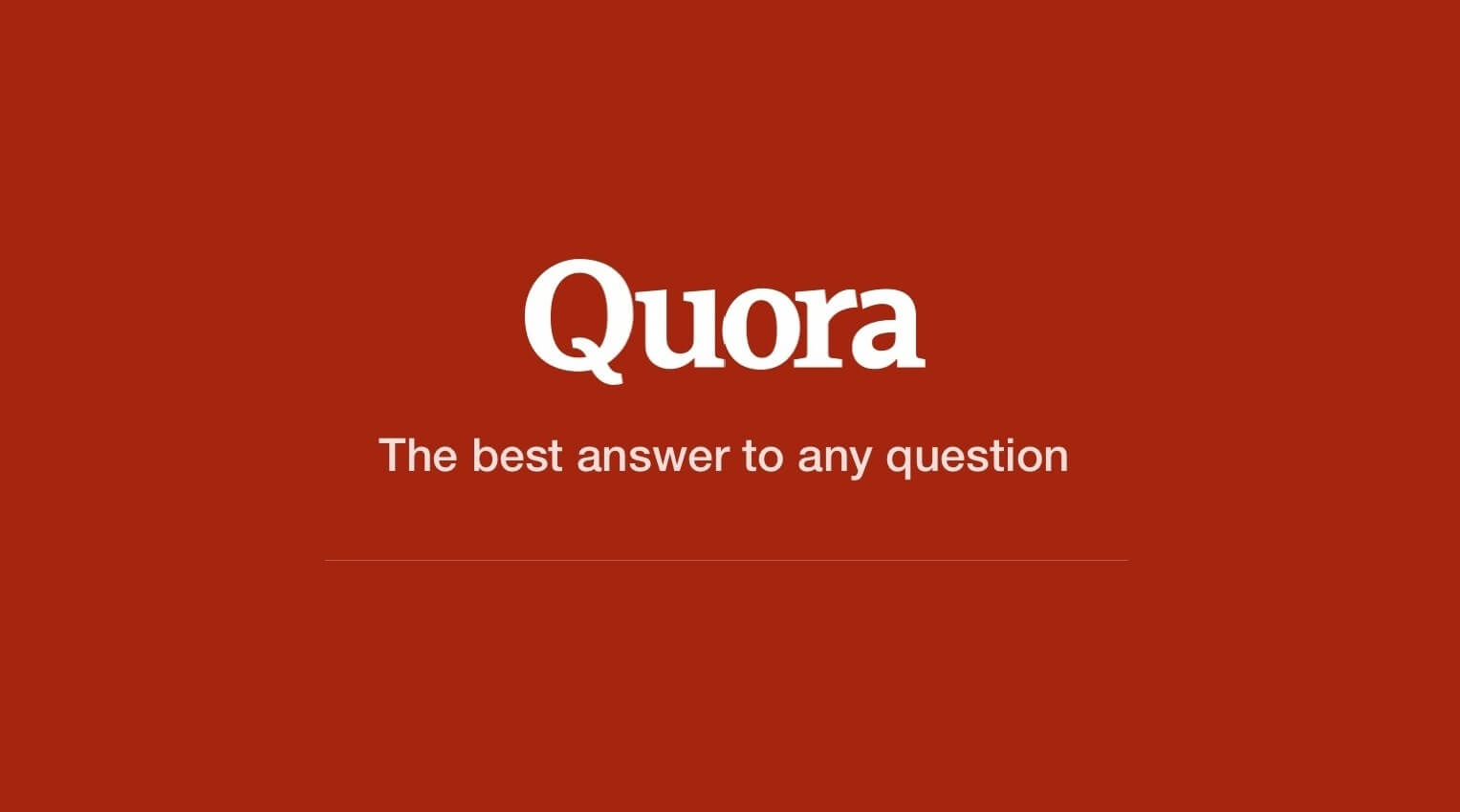 Quora is now available in Hindi