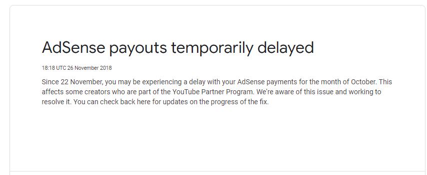 google adsense automatic payment process