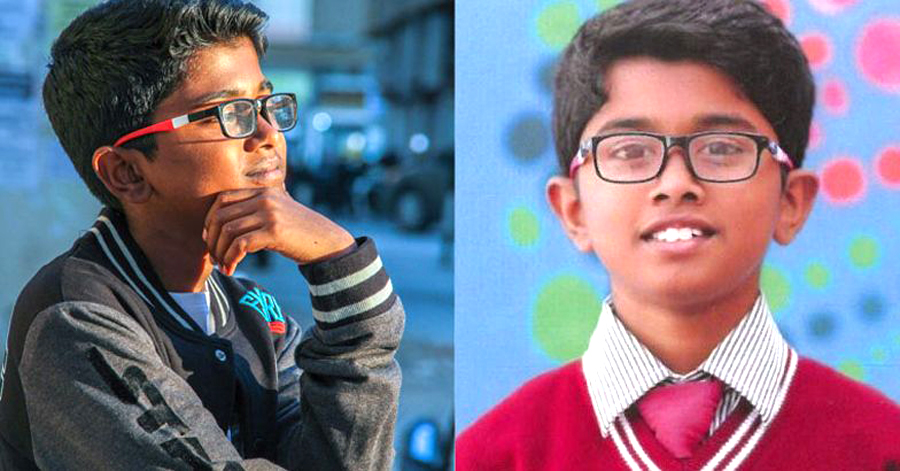 13 Years Indian Boy Aadithyan Rajesh Starts Software Company In Dubai