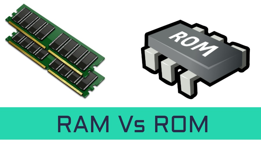 what is the difference between rom and ram