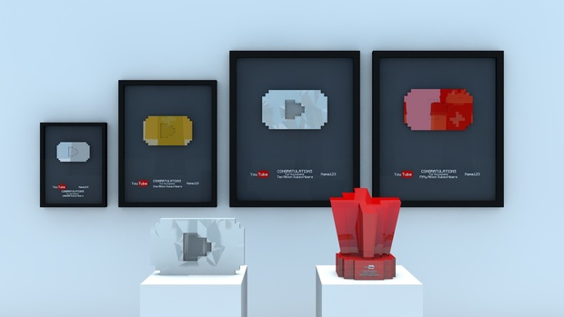 What are YouTube Play buttons