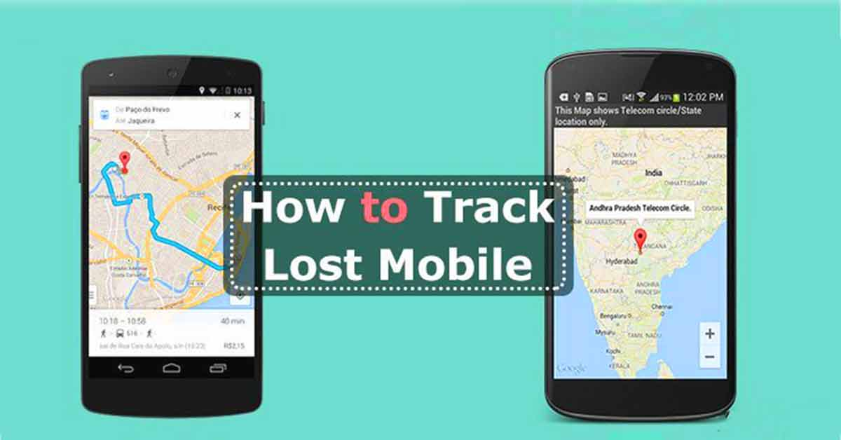 how to find and block lost mobile