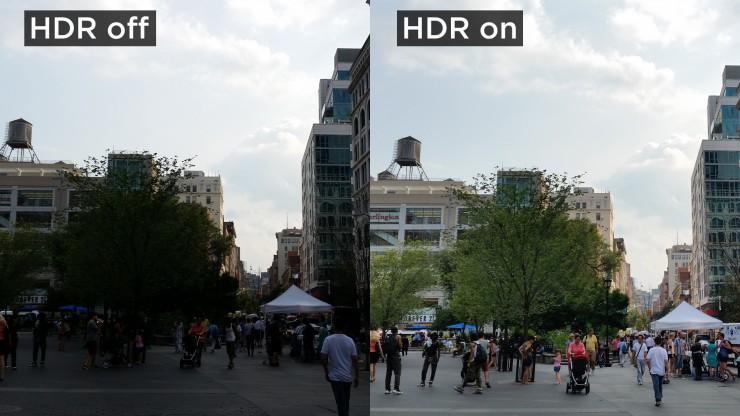Phone Camera HDR Mode