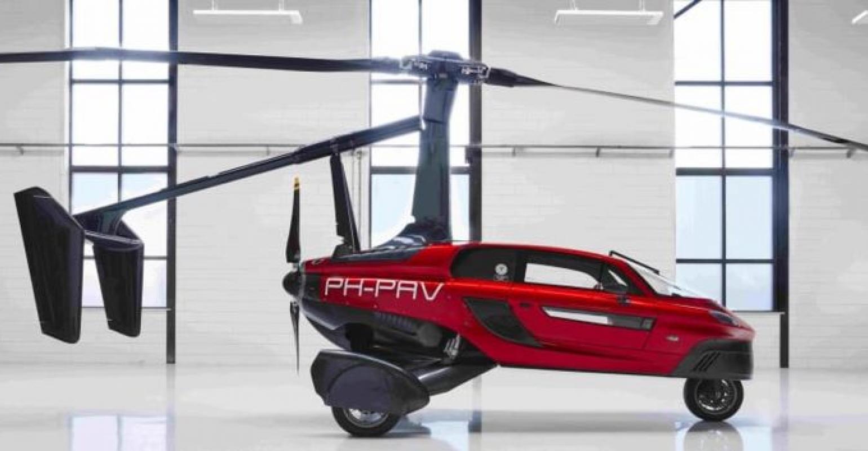 flying car personal air land vehicle in hindi