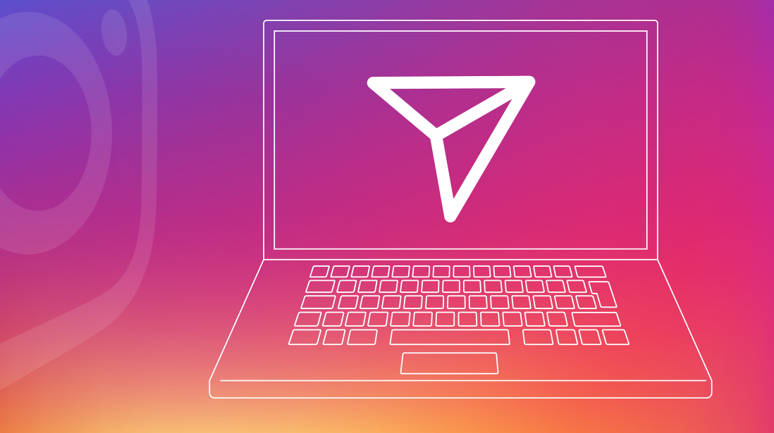 how to view direct messages on instagram messages on computer