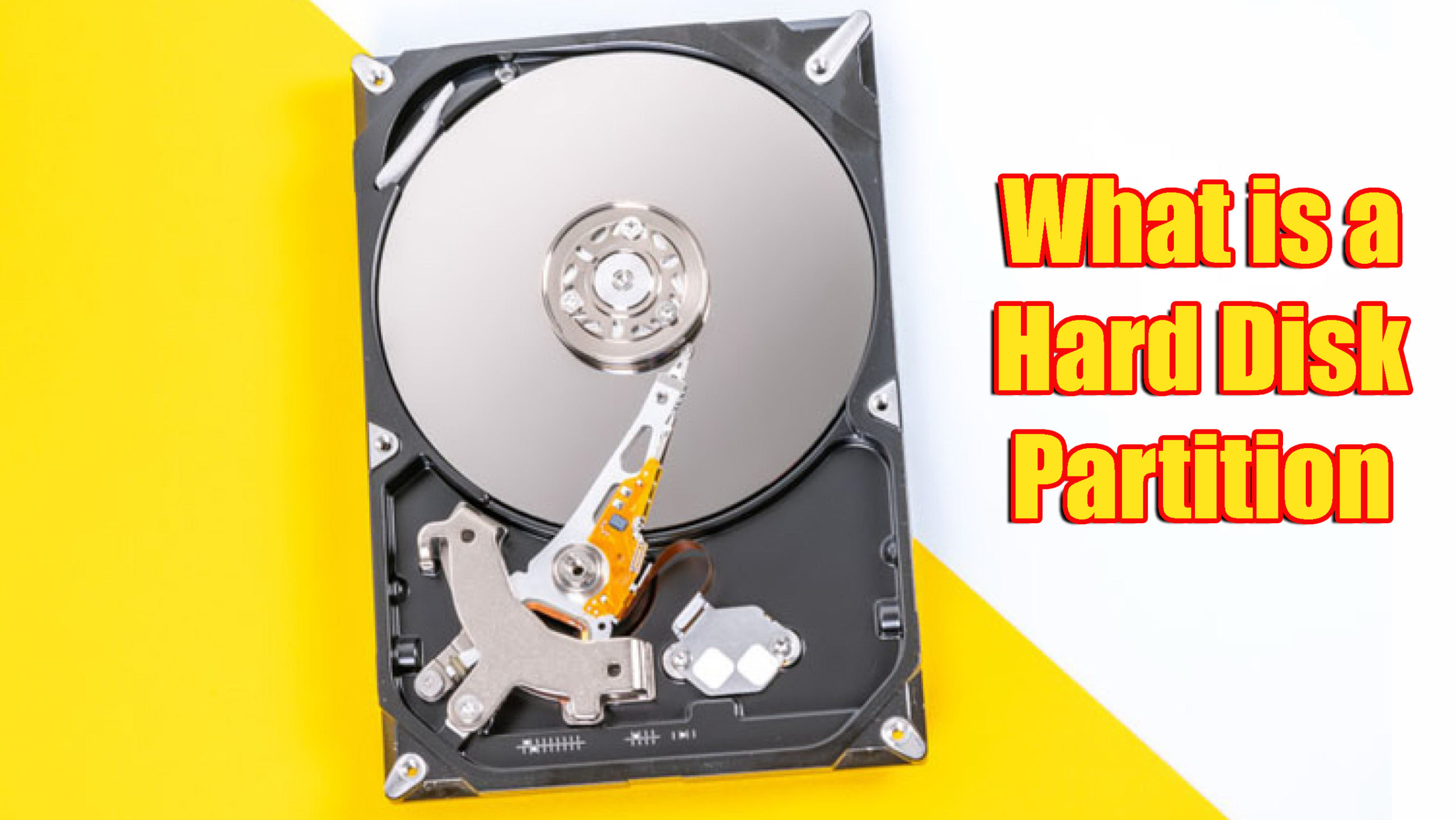 Hard Disk Partition Kya Hai Kaise Kare in Hindi