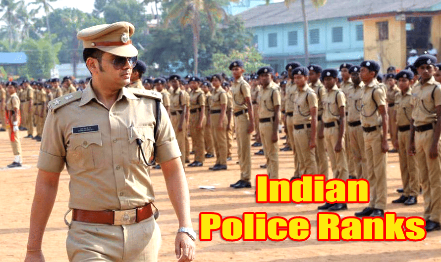 Indian Police Ranks